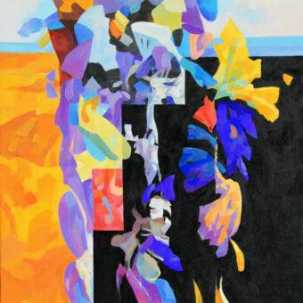 Composition 1 40″x30″