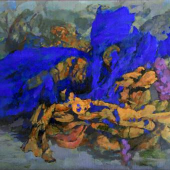 Study canvas16″x20″