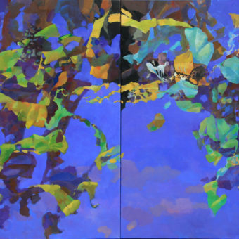 Drift 60″x40″ Two Panels